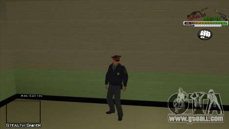 SAPD Pak skins for GTA San Andreas third screenshot