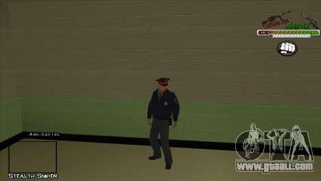 SAPD Pak skins for GTA San Andreas third screenshot