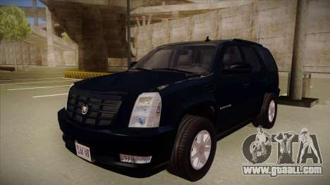 Cadillac Escalade 2011 Unmarked FBI for GTA San Andreas