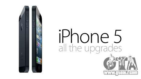 GTA V to SA: Iphone 5 for GTA San Andreas