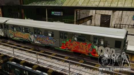 New graffiti on the Subway v1 for GTA 4 second screenshot