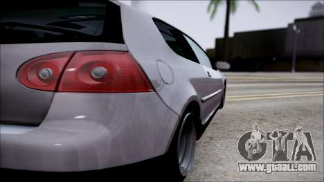 Volkswagen Golf GTI for GTA San Andreas side view