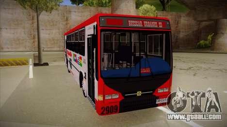 Busscar Urbanus SS Volvo B10 M Busmania for GTA San Andreas left view
