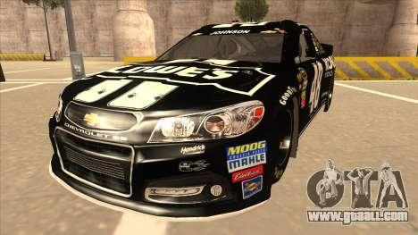 Chevrolet SS NASCAR No. 48 Kobalt Tools for GTA San Andreas