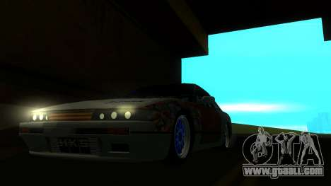 Nissan Silvia S13 MGDT for GTA San Andreas right view