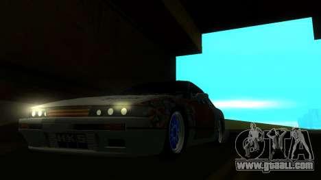 Nissan Silvia S13 MGDT for GTA San Andreas right view