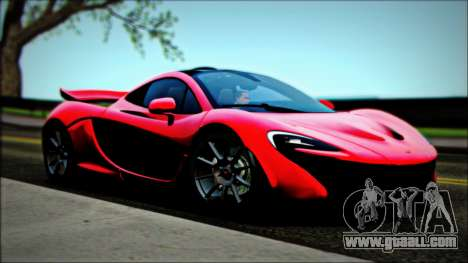McLaren P1 2014 for GTA San Andreas right view