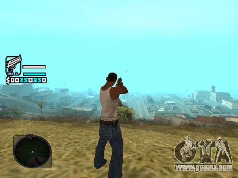 Hud by Larry for GTA San Andreas second screenshot