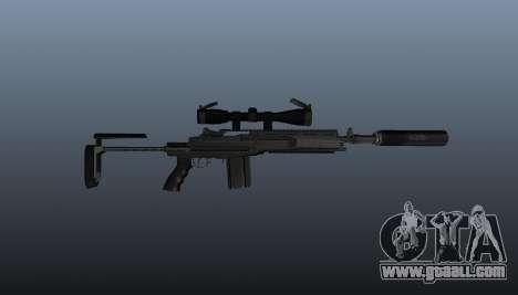 Automatic rifle M14 EBR v1 for GTA 4 third screenshot