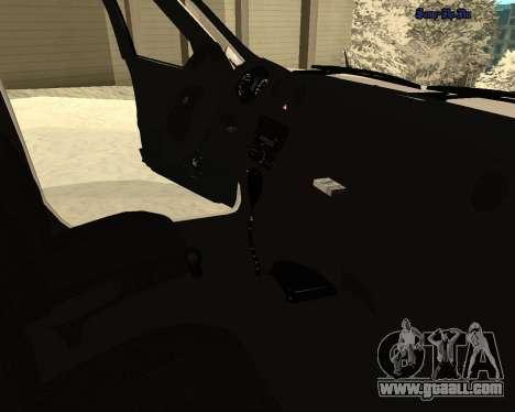 Lada Granta 2190 Police v 2.0 for GTA San Andreas upper view