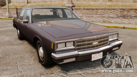 Chevrolet Impala 1985 for GTA 4