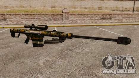 The Barrett M82 sniper rifle v13 for GTA 4