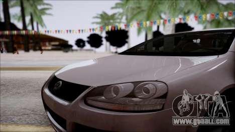 Volkswagen Golf GTI for GTA San Andreas back view