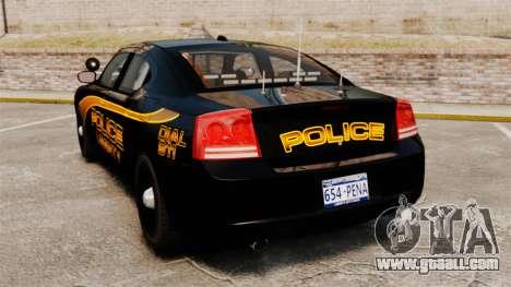 Dodge Charger 2008 LCPD Slicktop [ELS] for GTA 4 back left view