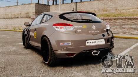Renault Megane RS N4 for GTA 4 back left view