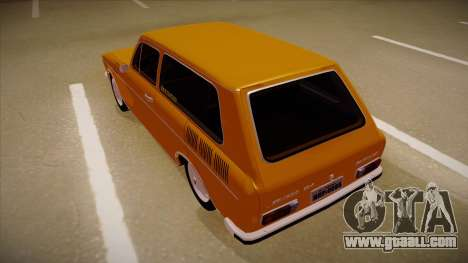 VW Variant 1972 for GTA San Andreas back view