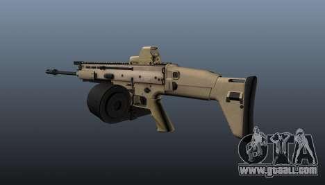 FN SCAR-H Machine Gun LMG for GTA 4 second screenshot