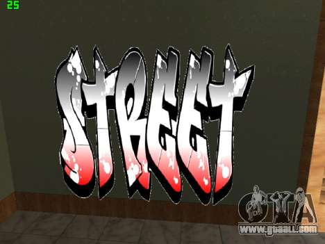 Graffity mod for GTA San Andreas