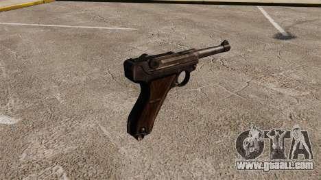 Pistol Parabellum v1 for GTA 4 second screenshot