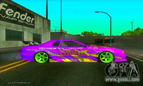 Elegy DC v2 for GTA San Andreas left view