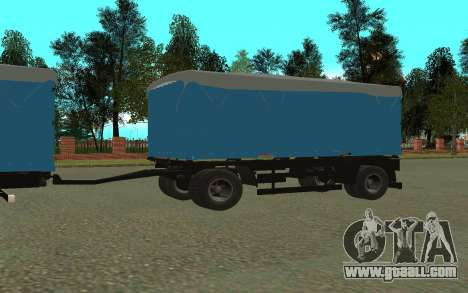 Trailer for KamAZa 5320 for GTA San Andreas right view