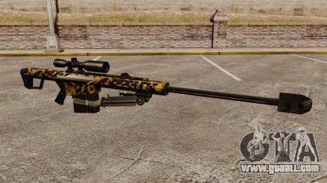 The Barrett M82 sniper rifle v11 for GTA 4
