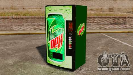 New soda vending machines for GTA 4