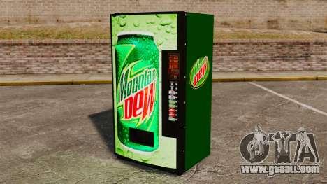 New soda vending machines for GTA 4
