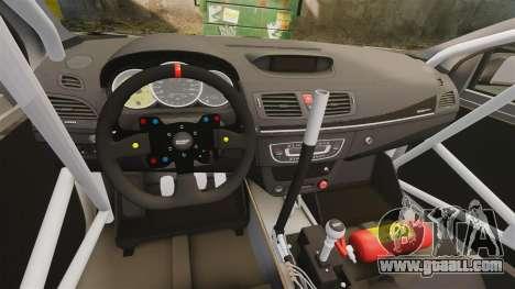 Renault Megane RS N4 for GTA 4 back view