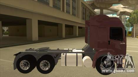 Volkswagen Constellation 25.370 Tractor for GTA San Andreas back left view