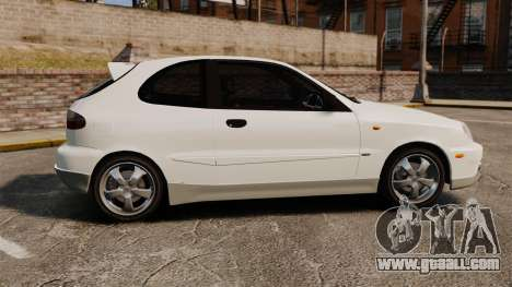 Daewoo Lanos GTI 1999 Concept for GTA 4 left view