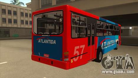 Marcopolo Torino G6 Linea 57 Atlantida for GTA San Andreas right view