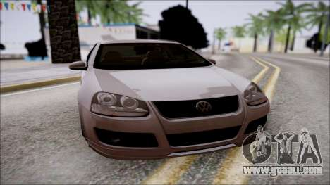 Volkswagen Golf GTI for GTA San Andreas back left view