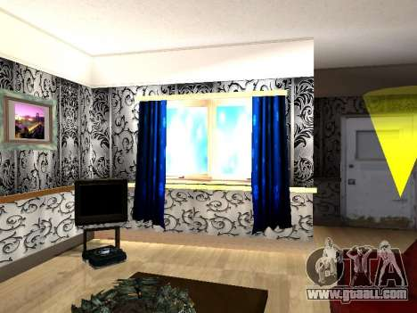 New interior 2-storeyed building CJ for GTA San Andreas sixth screenshot