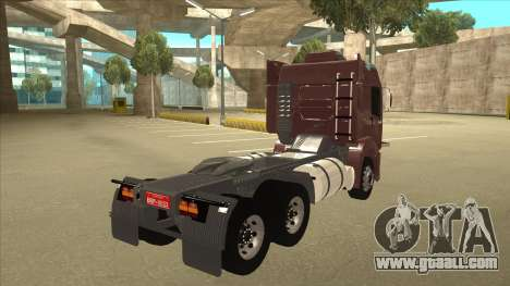 Volkswagen Constellation 25.370 Tractor for GTA San Andreas right view