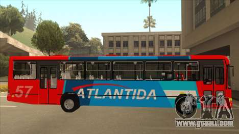 Marcopolo Torino G6 Linea 57 Atlantida for GTA San Andreas back left view