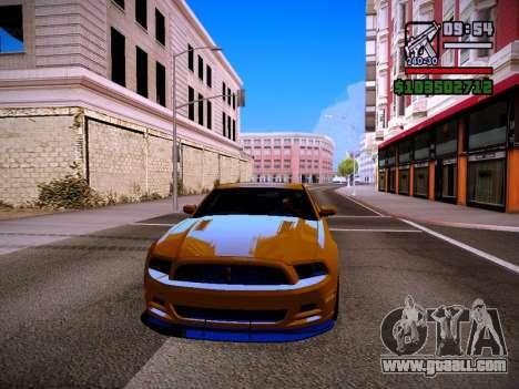ENB by DjBeast for SA:MP Light Version for GTA San Andreas second screenshot