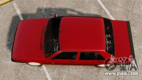 Tofas Dogan SL-X for GTA 4 right view
