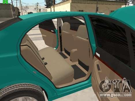 Toyota Avensis 2.0 16v VVT-i D4 Executive for GTA San Andreas upper view