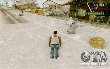 Steel rule for GTA San Andreas fifth screenshot