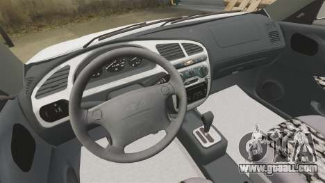 Daewoo Lanos GTI 1999 Concept for GTA 4 inner view