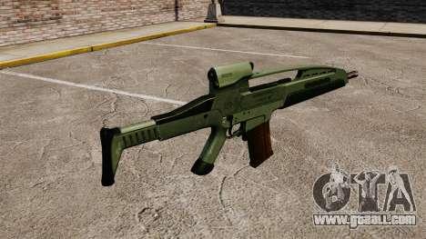 HK XM8 assault rifle v1 for GTA 4 second screenshot