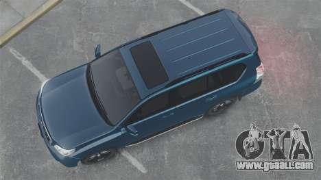 Toyota Land Cruiser Prado 150 for GTA 4 right view