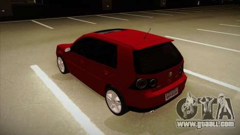 VW Golf GTI 2008 for GTA San Andreas back view