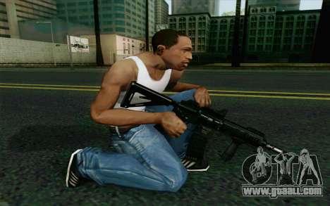 MK107 PDW for GTA San Andreas second screenshot