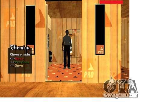 Skin Pack Russian mafia for GTA San Andreas third screenshot