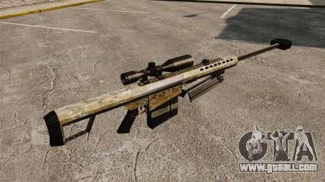 The Barrett M82 sniper rifle v14 for GTA 4 second screenshot