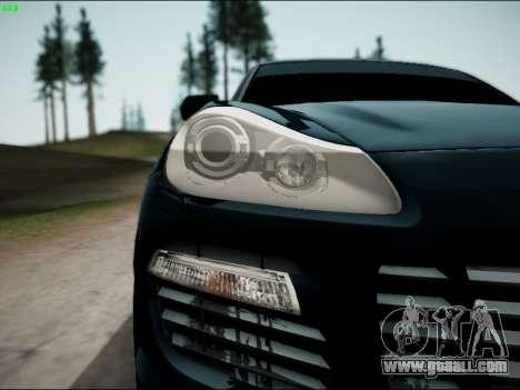 Porsche Cayenne for GTA San Andreas right view