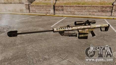 The Barrett M82 sniper rifle v14 for GTA 4 third screenshot