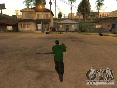 KORD for GTA San Andreas second screenshot